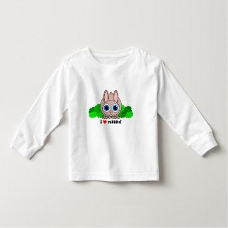 I love rabbits toddler t-shirt