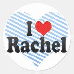 I Love Rachel Stickers