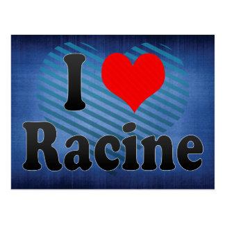 I Love Racine, United States Post Card