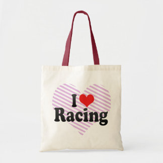 I Love Racing Bag