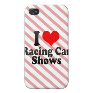 I love Racing Car Shows iPhone 4 Cases