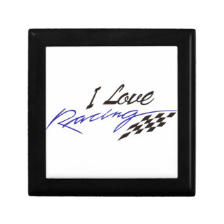 I Love Racing Gift Box