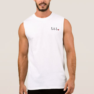 I LOVE RACING LIFELINE SLEEVELESS SHIRT