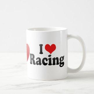 I Love Racing Mugs