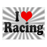 I love Racing Post Card