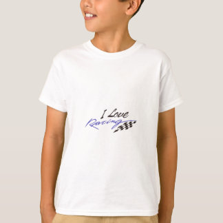 I Love Racing T-Shirt