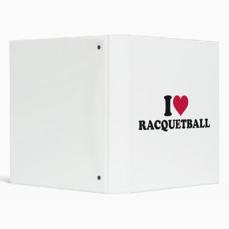I love Racquetball 3 Ring Binder