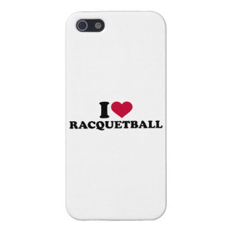 I love Racquetball Cover For iPhone SE/5/5s