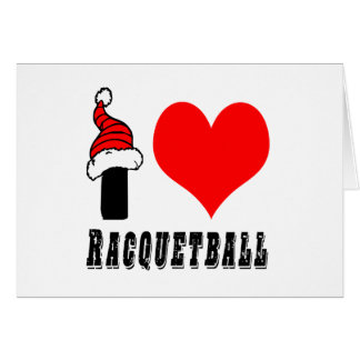 I Love Racquetball Design Cards