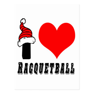 I Love Racquetball Design Postcards