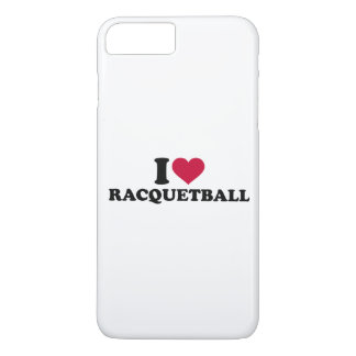 I love Racquetball iPhone 7 Plus Case