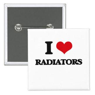 I Love Radiators Buttons