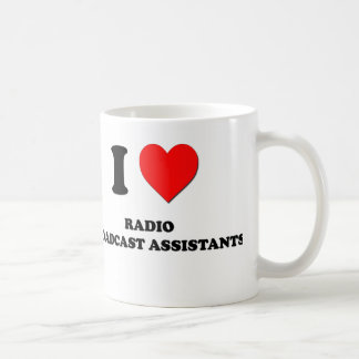 I Love Radio Broadcast Assistants Mug
