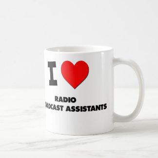 I Love Radio Broadcast Assistants Coffee Mug