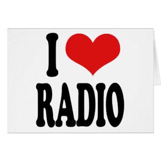 I Love Radio Card