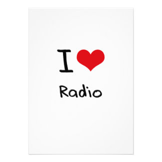 I love Radio Custom Announcements