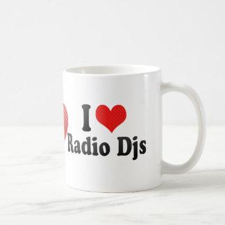 I Love Radio Djs Coffee Mug