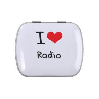 I love Radio Jelly Belly Tins