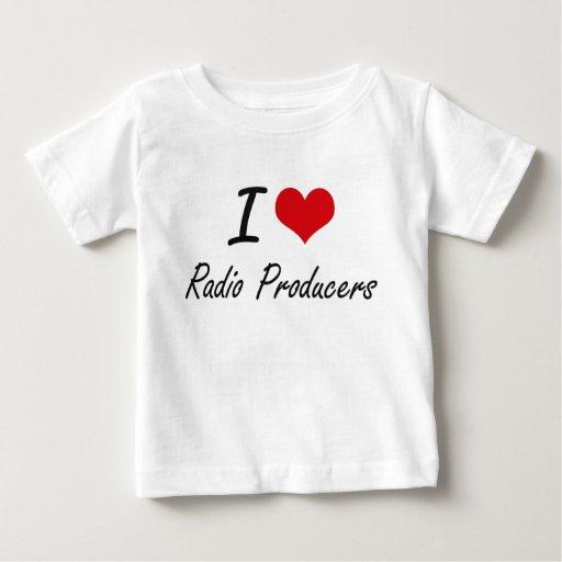I love Radio Producers T Shirt T-Shirt, Hoodie, Sweatshirt