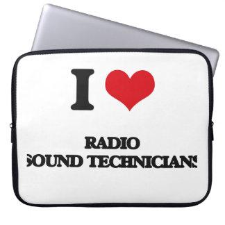 I love Radio Sound Technicians Laptop Sleeves