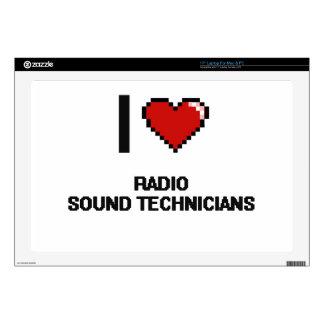 I love Radio Sound Technicians Skin For Laptop
