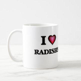 I Love Radishs Coffee Mug