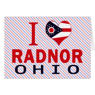 I love Radnor, Ohio Cards