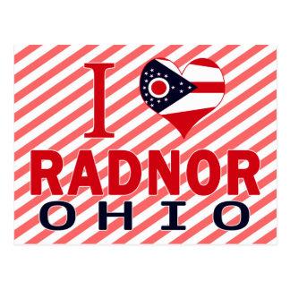 I love Radnor, Ohio Postcards