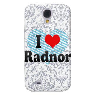 I Love Radnor, United States Galaxy S4 Cover