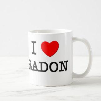 I Love Radon Coffee Mug