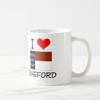 I Love Raeford North Carolina Coffee Mug