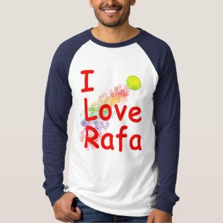 I Love Rafa Tennis Design T-shirt