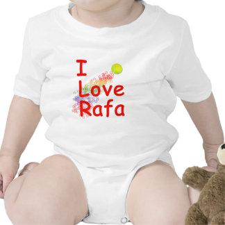 I Love Rafa Tennis Design Bodysuit