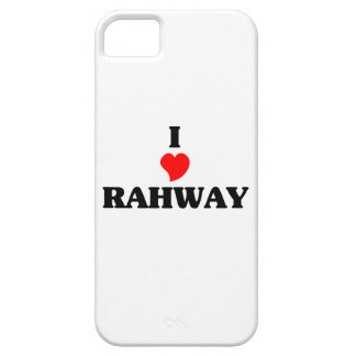 I love Rahway iPhone 5 Cases