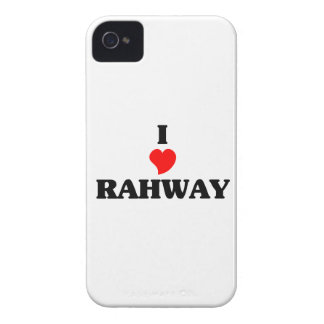 I love Rahway iPhone 4 Covers