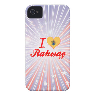 I Love Rahway, New Jersey iPhone 4 Cover