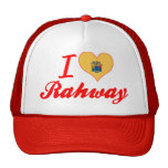 I Love Rahway, New Jersey Hat