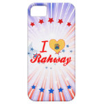 I Love Rahway, New Jersey iPhone 5 Covers