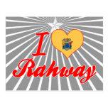 I Love Rahway, New Jersey Postcard