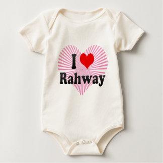 I Love Rahway, United States Baby Bodysuit