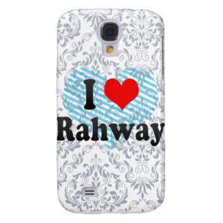 I Love Rahway, United States Samsung Galaxy S4 Cover
