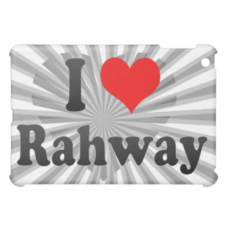 I Love Rahway, United States iPad Mini Cover