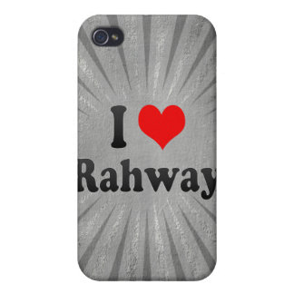 I Love Rahway, United States iPhone 4/4S Case