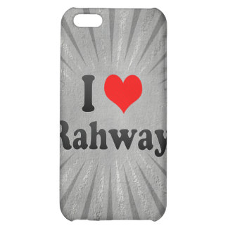 I Love Rahway, United States Cover For iPhone 5C