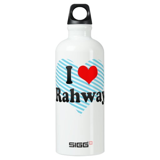 I Love Rahway, United States SIGG Traveler 0.6L Water Bottle