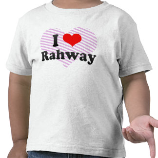 I Love Rahway, United States Tshirt