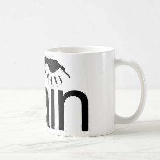 I Love Rain Coffee Mugs