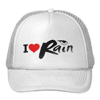I Love Rain Hat