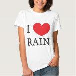 i love rain tshirts