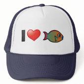 I Love Rainbow Parrotfish